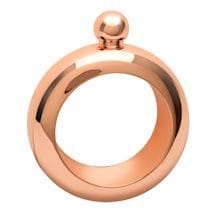 Rose Gold Bracelet Flask